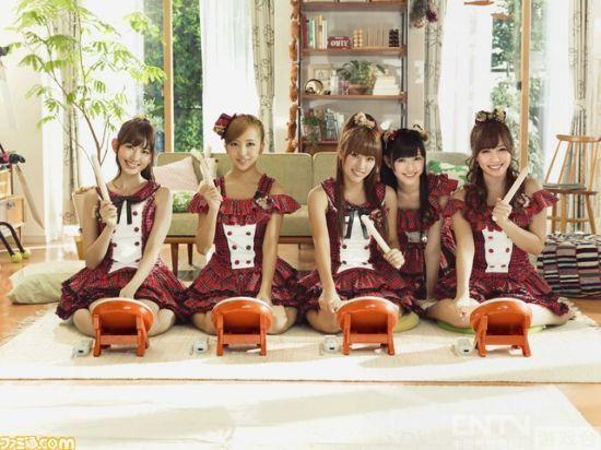 AKB48代言《太鼓达人》广告  将登陆全平台