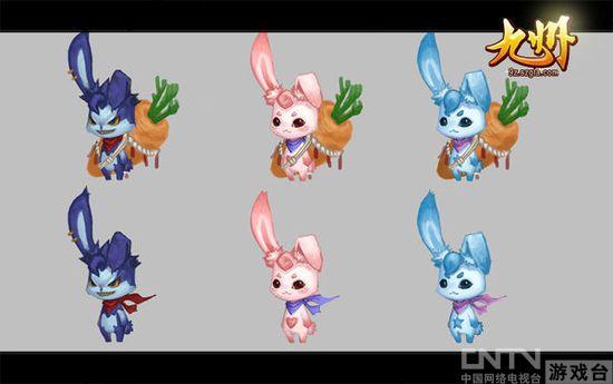 卡通兔子萌宠图片