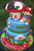 马里奥主题蛋糕第一季