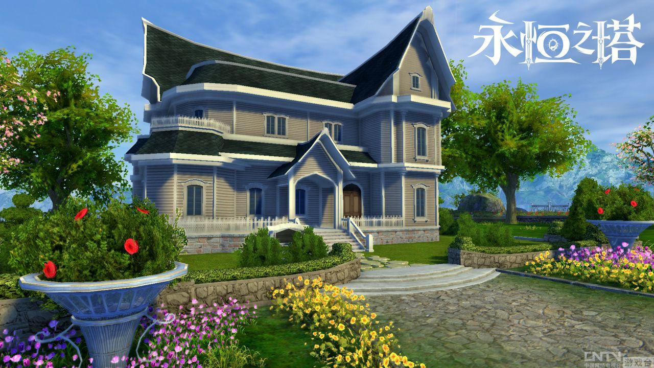 玩家不仅可以居住休息,还能改建住宅外观,装修墙面与地板,高清图片