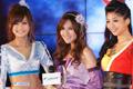 台北国际电玩展游戏新干线《极道》模特Showgirl登场