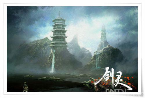《剑灵》最新场景原画首曝 预计年内首测