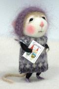 萌哭了 美国艺术家barby303的羊毛毡作品
