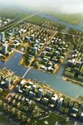 苏州高铁新城鸟瞰图