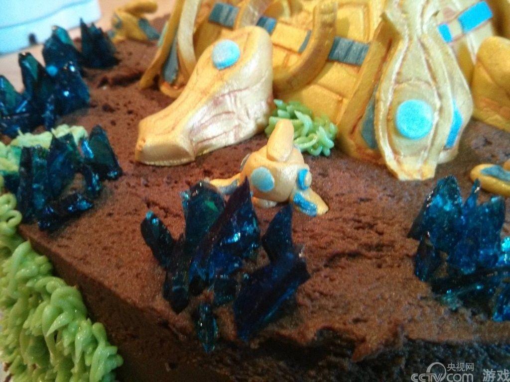 玩家自制神族分基地蛋糕