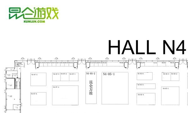 香车美人 昆仑cj展台设计图曝光_厂商新闻_游戏_央视网