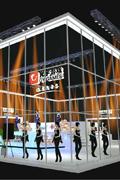 2013CJ光宇游戏梦幻展台灯炫彩灯效抢先看
