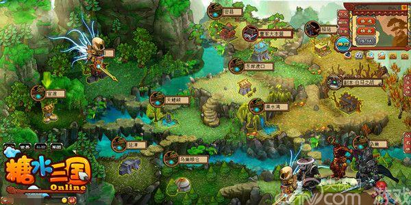 逆世界大冒险《糖水三国》精英地图揭秘_网页游戏