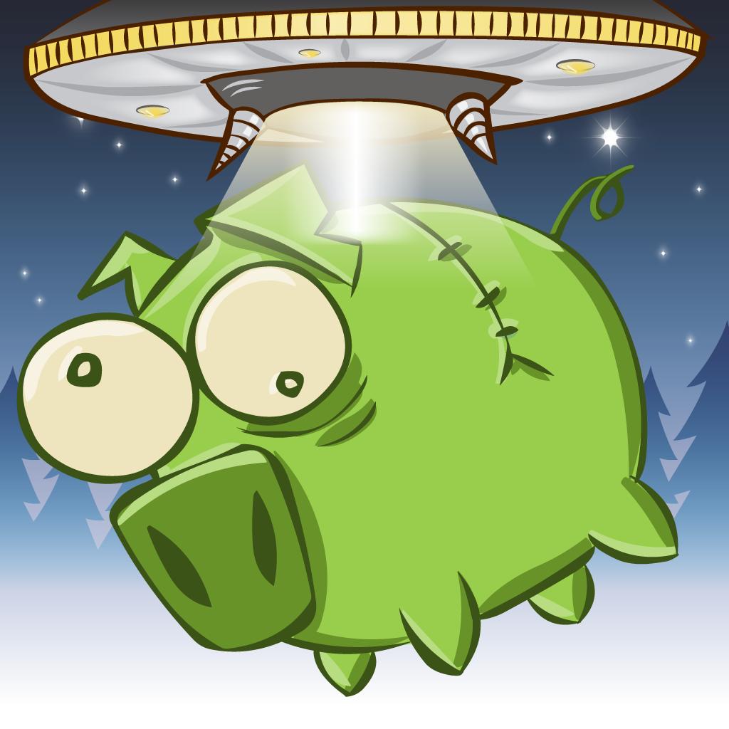 u f oinkers; 飞天小猪; 【ufoinkers】2d卡通风格的可爱小飞猪!