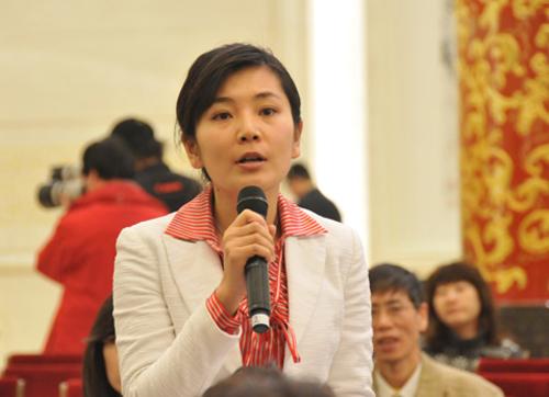 深圳卫视记者提问