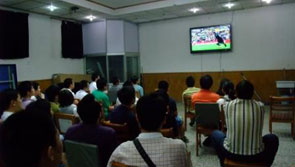 中国热衷观赏体育