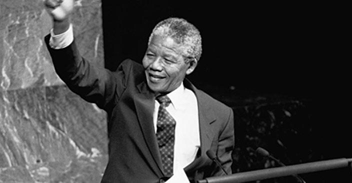 南非首位黑人总统_高清图集_曼德拉逝世