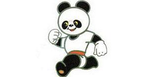 ● 北京亚运会吉祥物:熊猫盼盼