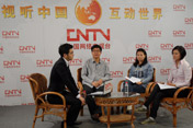 央视走基层记者做客中国网络电视台