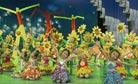 儿童歌舞《把春天吵醒了》