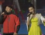 歌唱家谭晶、著名教练李永波共同演唱《心的金牌》