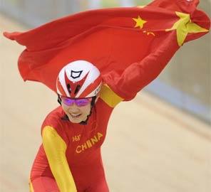 <font color=red>破纪录</font>:场地女子追逐 姜帆两度刷新亚洲纪录