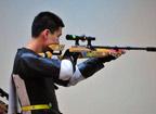 <font color=red>第12金:</font>亚运男子10米移动靶团体 中国摘得金牌