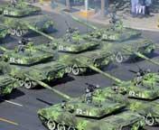 96A式坦克方队