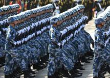 海军陆战队方队