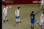 脚法精彩 罗京式点球