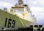 海军成立60周年画展作品选