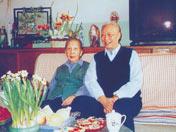 1998年春节,老夫老妻合影