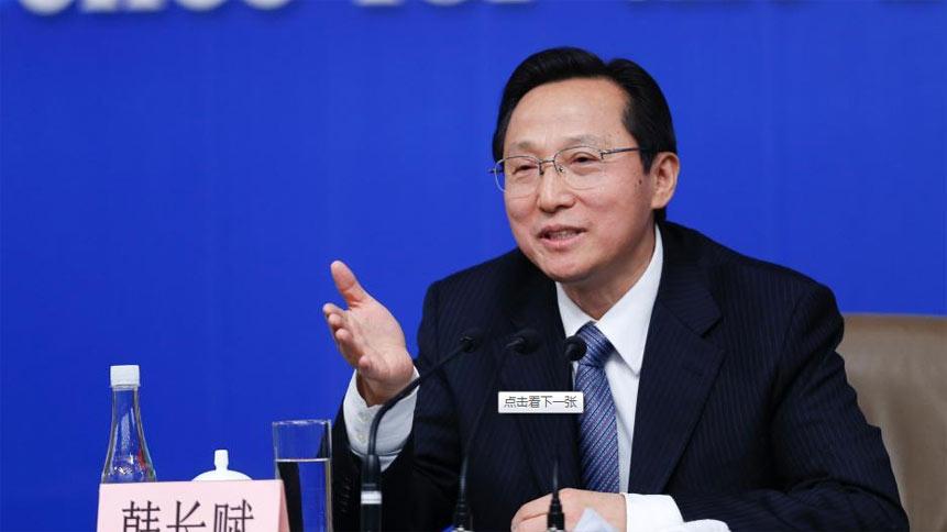 """农业部部长韩长赋等就""""扎实深化农村改革 加快发展现代农业""""答记者问"""