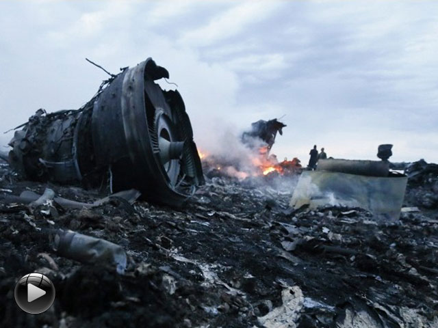 马航mh17客机在乌俄边境坠毁