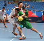 [高清组图]亚青会:手球预赛沙特胜中国