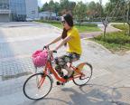 [高清组图]亚青会倡导南京市民绿色出行