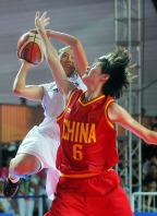 [高清组图]亚青会女子篮球决赛 中国队夺冠