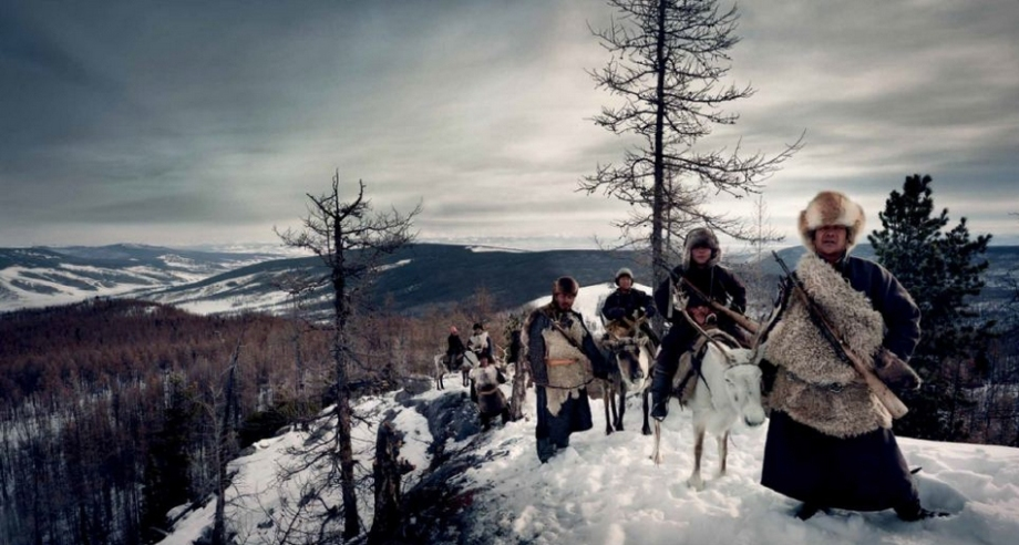 图为查腾族,蒙古国.图片来源:环球网 上一图集 下一图集