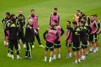 [高清图集]西班牙队赛前训练 卫冕冠军风采依旧