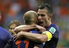 [高清组图]世界杯-范佩西罗本爆发 荷兰5-1西班牙