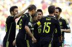[高清组图]西班牙3-0澳大利亚 双双告别世界杯