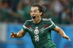 [高清组图]墨西哥3-1克罗地亚 小组第二将战荷兰