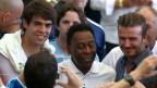 [高清组图]各界名流出席世界杯决赛 贝利卡卡密谈