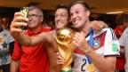 [高清组图]世界杯:德国队问鼎 更衣室忘情欢庆