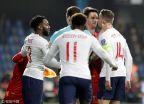 [高清組圖]歐預賽-斯特林傳射 英格蘭5-1勝黑山