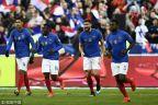 [高清組圖]歐預賽-姆巴佩2傳1射吉魯破門 法國4-0