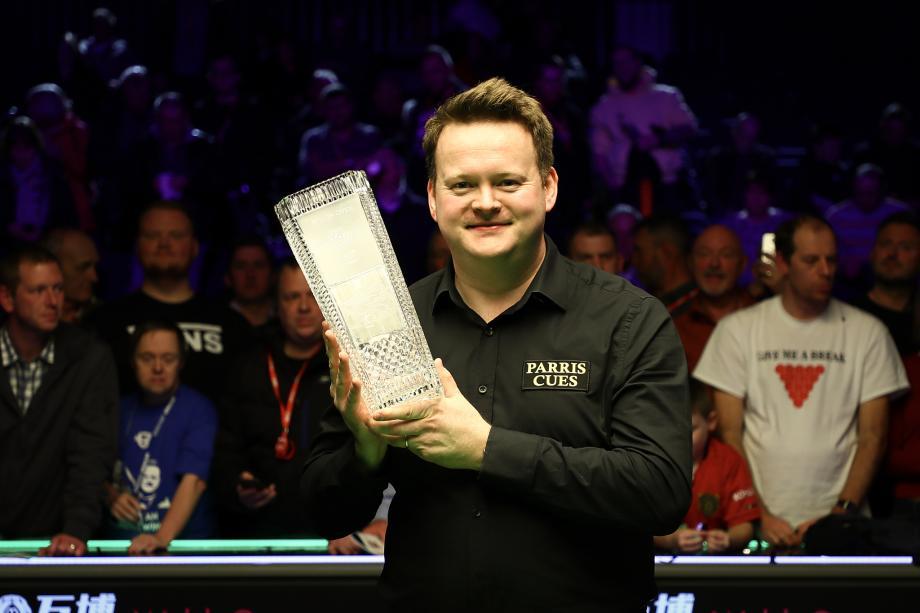 [图]威尔士赛-墨菲9-1胜威尔逊 夺排名赛第9冠