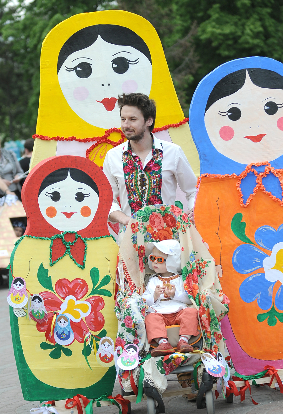 Парад детских колясок в новосибирске