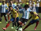 [国际足球]世预赛:梅西替补 阿根廷1-1厄瓜多尔