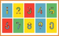 Numbers 数字动态设计