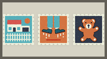 Everyday Stamps 图标设计