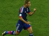 [世界杯]日本精妙配合 本田圭佑世界波直挂死角