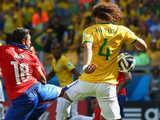 [世界杯]1/8决赛:巴西VS智利 上半场