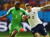 [世界杯]1/8决赛:法国2-0尼日利亚 比赛集锦