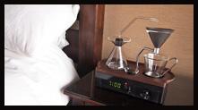 懒人必备:闹钟咖啡机